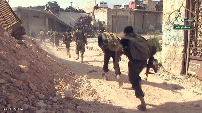 كسر الحصار عن حلب
